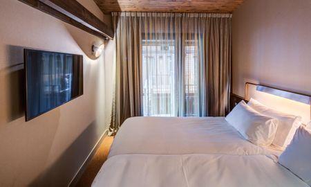 Quarto Standard Duplo ou Twin - Hotel Van De Vijsel - Amsterdã
