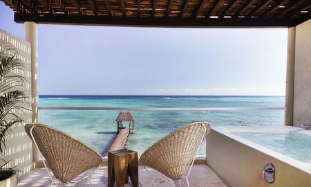 Suite Master Front de Mer avec Piscine Privée - Mereva Tulum By Blue Sky - Tulum
