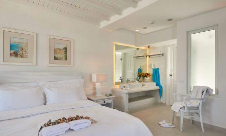 Quarto Standard Duplo - Petinos Beach Hotel - Míconos