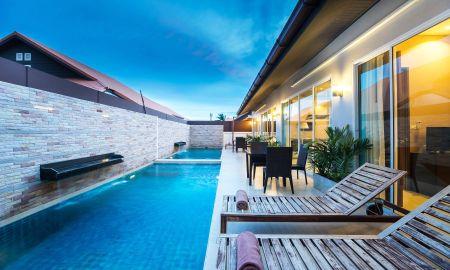 Villa Six Chambres avec Piscine - The Ville Jomtien Pool Villa - Pattaya