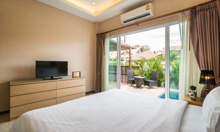 Plunge Pool Villa Deux Chambres - The Ville Jomtien Pool Villa - Pattaya
