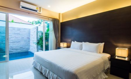 Villa Deux Chambres avec Piscine - The Ville Jomtien Pool Villa - Pattaya