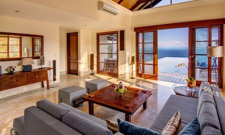 Villa Tres Dormitorios con Piscina - Frente al Acantilado - Karma Kandara - Bali