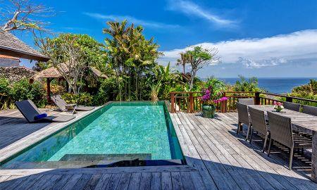 Villa Quatro Quartos com Piscina - Vista Oceano - Karma Kandara - Bali