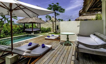 Vila Um Quarto com Piscina - Vista Jardim - Karma Kandara - Bali