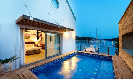 Honeymoon Suite With Jacuzzi - Doria Hotel Yacht Club Kaş - Antalya