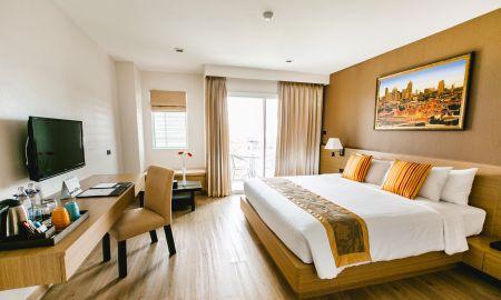 Номер люкс двухместный с балконом - Adelphi Pattaya - Pattaya