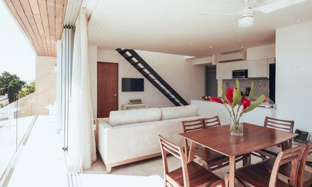 Deux chambres familiale avec Jacuzzi et Toit-terasse - Antera Hotel & Residences - Playa Del Carmen