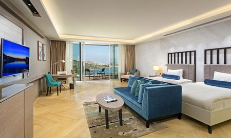Deluxe Twin Room with Sea View - Sirene Luxury Hotel Bodrum - Bodrum