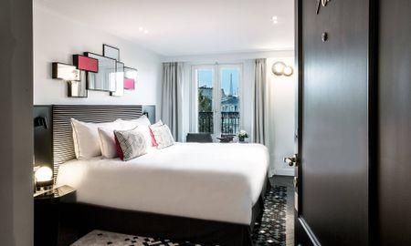 Chambre Deluxe Tour Eiffel - Fauchon L'Hotel Paris - Paris