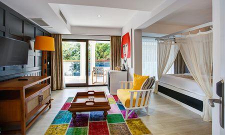 Honeymoon Room - Sea View - Meis Exclusive Hotel - Antalya