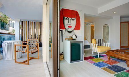 Sea Side View Room - Meis Exclusive Hotel - Antalya