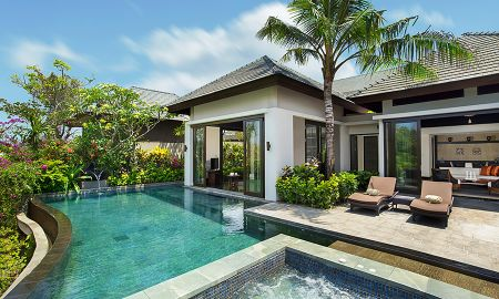 Pool Villa - Gartenseite - Banyan Tree Ungasan - Bali