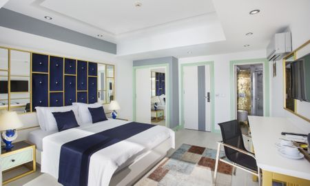 Deluxe Double Room With Balcony - Side Sea View - Sea View Hotel - Antalya