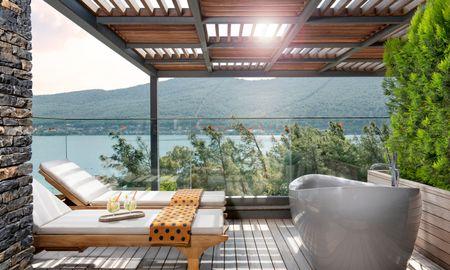 Habitación Indigo Clubber con Terraza - Lujo Hotel À La Carte All Inclusive - Bodrum