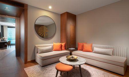 Suite familiar con terraza en esquina y vistas al mar - Lujo Hotel À La Carte All Inclusive - Bodrum