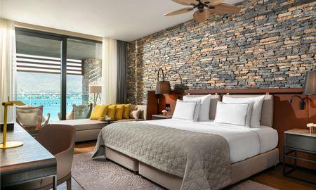Habitación Familiar con vistas parciales al mar - Lujo Hotel À La Carte All Inclusive - Bodrum