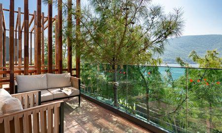 Suite Forest con vistas al mar - Lujo Hotel À La Carte All Inclusive - Bodrum