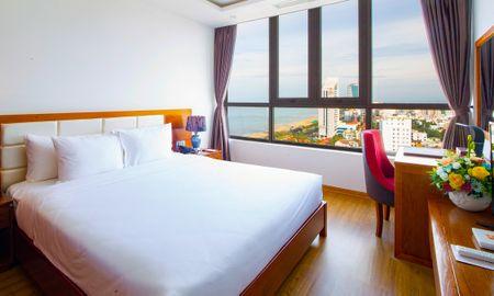 Suite Familiale avec Vue Mer Partielle - Le Hoang Beach Hotel Danang - Da Nang