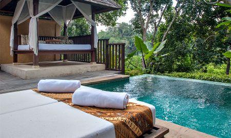 Villa Valle con Piscina - Komaneka At Tanggayuda - Bali