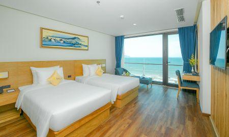 Chambre Twin Deluxe avec Balcon et Face à l'Ocean - Sala Danang Beach Hotel - Da Nang
