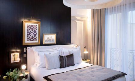 Chambre Eiffel Boutique - Le Damantin Hôtel & Spa - Paris