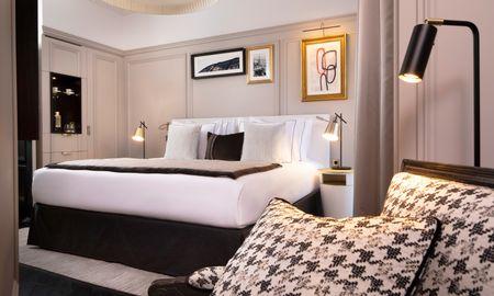 Chambre Deluxe - Le Damantin Hôtel & Spa - Paris