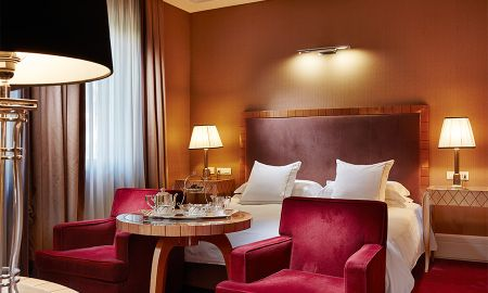 Chambre Double Deluxe - Hotel Lord Byron - Rome