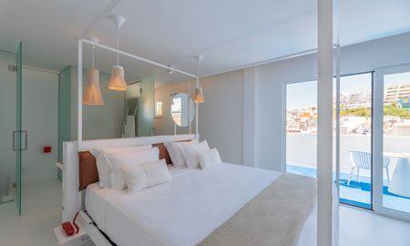 Chambre Double XL - Hotel Califórnia Urban Beach - Adults Only - Algarve