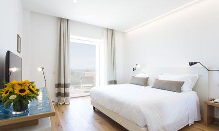 Quarto Superior - Vista Mar - Art Hotel Villa Fiorella - Sorrento