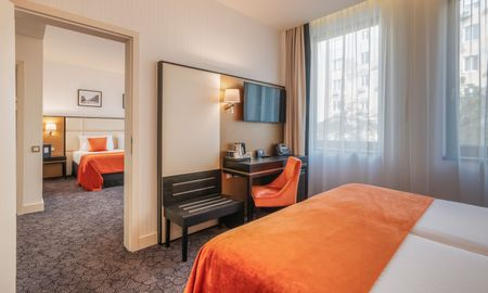 Two Connecting Double Rooms - Eurostars Danube Budapest - Budapest