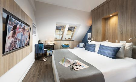 Deluxe Double Room - The Three Corners Lifestyle Hotel - Budapest