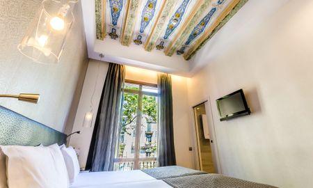 Habitación Doble o Twin - Vistas Ramblas - Exe Ramblas Boqueria - Barcelona