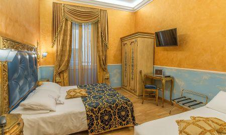 Quarto Triplo - Hotel Veneto Palace - Roma