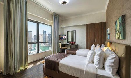 Апартаменты Делюкс - 2 Спальни - Частичный вид на Марину - City Premiere Marina Hotel Apartments - Dubai