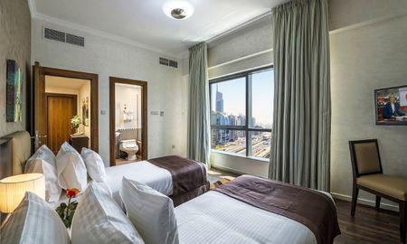Стандартные апартаменты с 2 спальнями - вид на город - City Premiere Marina Hotel Apartments - Dubai