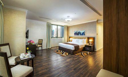Аппартаменты люкс с одной спальней - Частичный вид на Марину - City Premiere Marina Hotel Apartments - Dubai