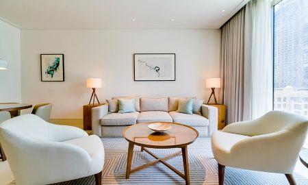 Аппартаменты с одной спальней - вид на город - Vida Residences Downtown - Dubai