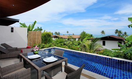 One Bedroom Villa - Pool with Sea View - The Village Coconut Island - Phuket