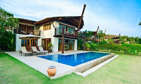 Grand Three-Bedroom Beach Front Pool Villa - The Village Coconut Island - Phuket