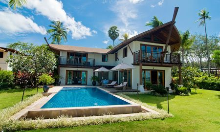 Grand Three-Bedroom Pool Villa with Sea View - The Village Coconut Island - Phuket