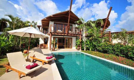 Grand Two-Bedroom Villa - Pool with sea view - The Village Coconut Island - Phuket