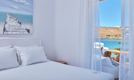 Beach House with Outdoor Jacuzzi - Sea View - Mykonos Waves Beach House & Suites - Mykonos