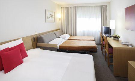 Classic Doppel Zimmer mit Doppelschlafsofa - Novotel Marseille Vieux Port - Marseille
