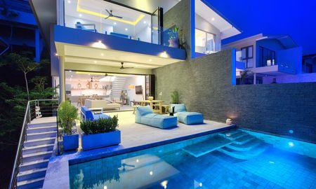 Villa de Luxe de 3 Chambres Avec Vue sur l'Océan et Piscine à Débordement privée - Samui Bayside Luxury Villas - Koh Samui