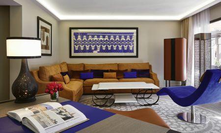 Twin Junior Suite - Movenpick Hotel Mansour Eddahbi Marrakech - Marrakech