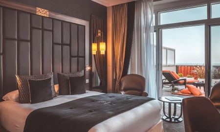 Superior Room - Terrace & Ocean View - Le Regina Biarritz Hotel & Spa - Mgallery Collection - Biarritz