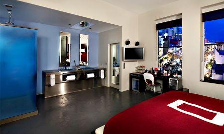 Quarto Deluxe com Vista Cidade - The Keating Hotel - San Diego