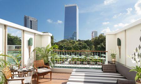 Habitación Club Balcón - The Sukhothai Bangkok - Bangkok