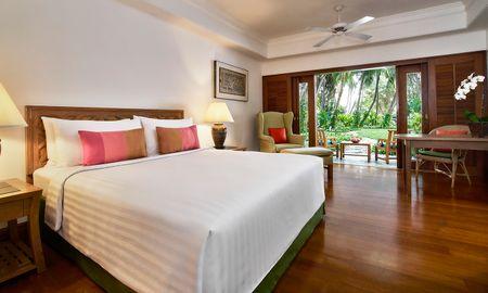 Chambre Garden Terrace - Anantara Siam Bangkok Hotel - Bangkok